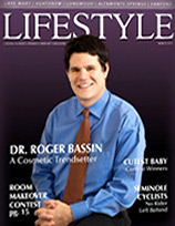 Plastic Surgeon Roger Bassin in Lifestyle Magazine