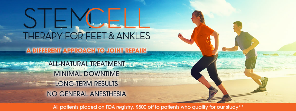 Stem Cell Treatment For Feet & Ankles