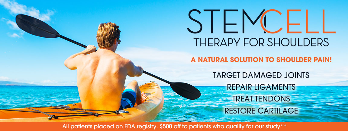 Stem Cell Treatment For Shoulders